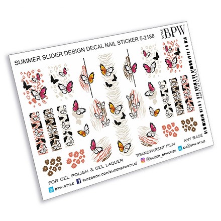 Купить BPW.Style, Слайдер-дизайн «Бабочки», №5-2188