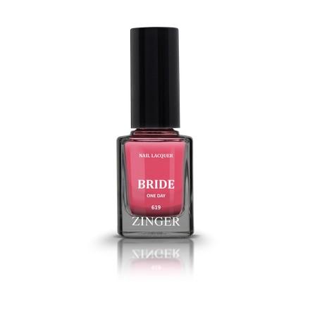Zinger, Лак для ногтей Bride, цвет One day