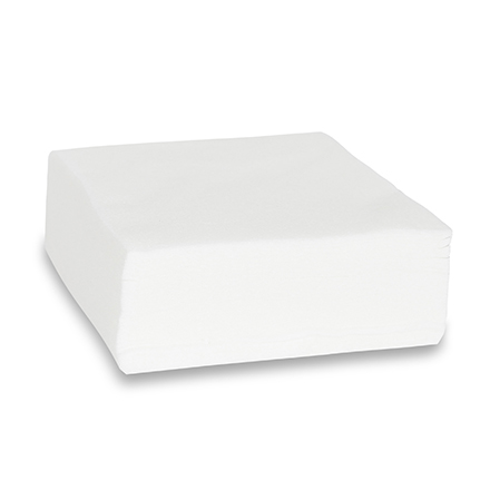 KrasotkaPro, Салфетка белая, 20х20 см, 100 шт.