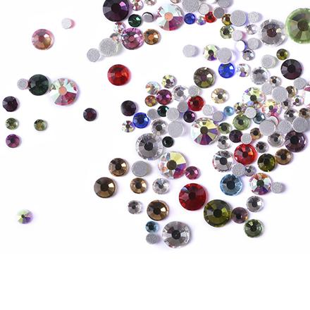 Купить TNL, Стразы кристалл, mix Color, TNL Professional