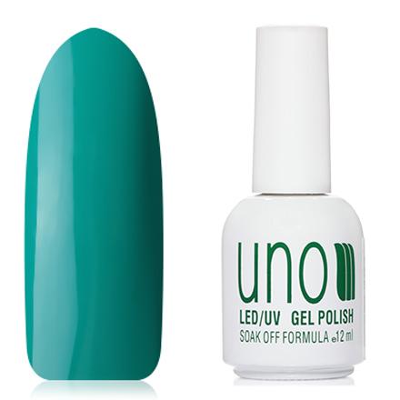 UNO, Гель-лак №010 Морская волна, Sea WaveUNO<br>Гель-лак (12 мл) цвета морской волны, без перламутра и блесток, плотный.<br><br>Цвет: Зеленый<br>Объем мл: 12.00