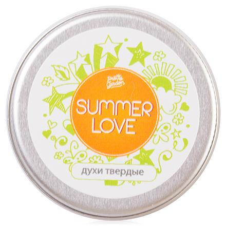 Уральская мыловаренная мануфактура, Твердые духи Summer Love, 10 гр (Uralsoap)