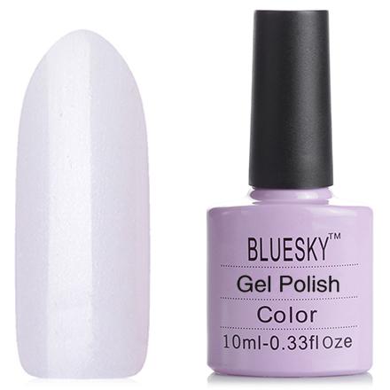 Bluesky, Гель-лак №40513/80513 BeauBluesky Шеллак<br>Гель-лак (10 мл) прозрачный с легким розоватым оттенком, с микроперламутром серебристого цвета.<br><br>Цвет: Розовый<br>Объем мл: 10.00