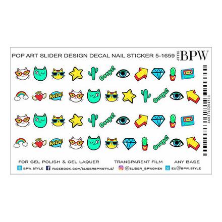 Купить BPW.style, Слайдер-дизайн Pop Art 5 №5-1659