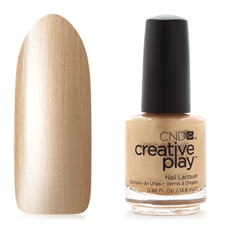 CND Creative Play, цвет Poppin Bubbly, 13,6 мл cnd лосьон creative scentsations wildflower