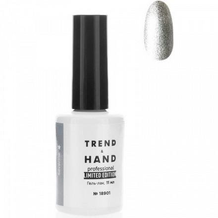Trend&Hand, Гель-лак Limited Edition №18901, Severine, Trend&Hand Professional, Серебряный  - Купить
