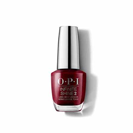 Купить OPI, Лак для ногтей Infinite Shine, I'M Not Really A Waitress, Красный