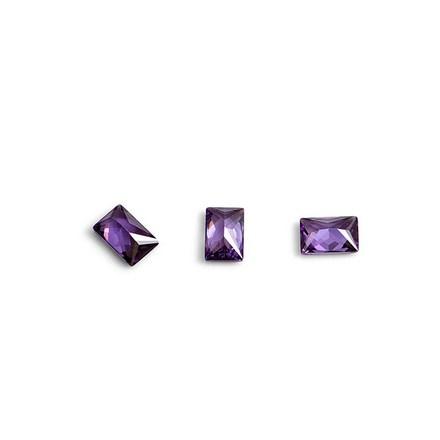 TNL, Кристаллы «Багет» №1, фиолетовые, 10 шт. фото