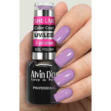 Купить Alvin D'or, Гель-лак №3579, Фиолетовый