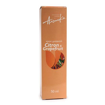 Альпика, Крем для лица Citron/Grapefruit, дневной, 50 мл garnier крем для лица антивозрастной уход интенсивное омоложение 55 дневной 50 мл