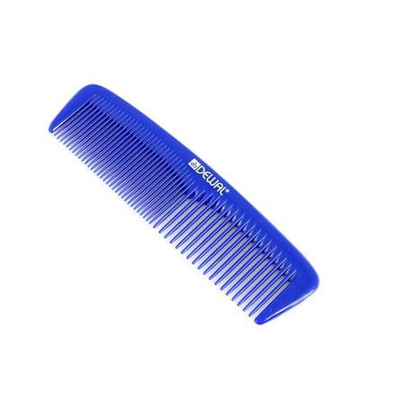 Купить Dewal, Расческа «Эконом» карманная, синяя, 13 см