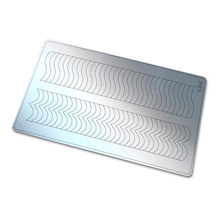 Купить Freedecor, Металлизированные наклейки №134, серебро