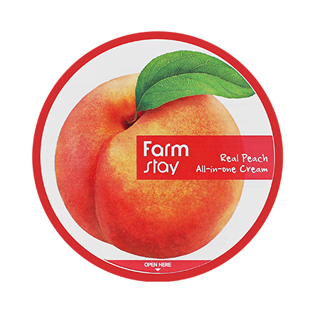 FarmStay, Крем All In One с экстрактом персика, 300 мл