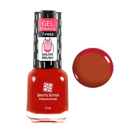 Brigitte Bottier, Лак для ногтей Gel Formula №10Brigitte Bottier<br>Лак для ногтей (12 мл). Насыщенно-красный.