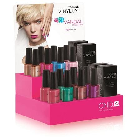 цены на CND, набор Vinylux Art Vandal Spring  в интернет-магазинах