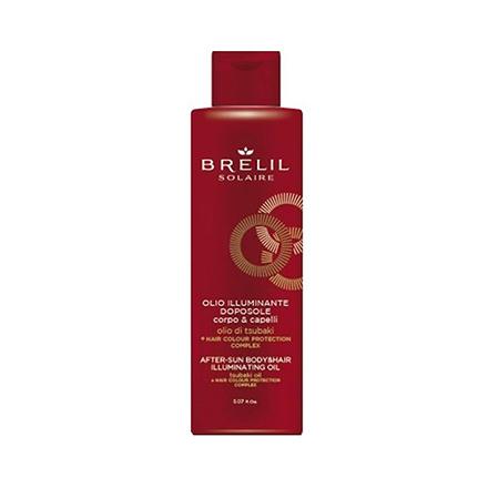 Купить Brelil Professional, Масло для волос и тела After-sun Illuminating, 150 мл