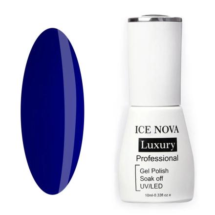 Купить Ice Nova, Гель-лак Luxury №082, Синий