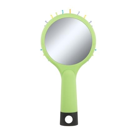 Beauty Essential, Маленькая расческа «Радуга», зеленая