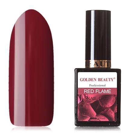 Bluesky, Гель-лак Golden Beauty Red Flame №02 bluesky гель лак golden beauty 66