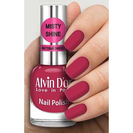 Купить Alvin D`or, Лак Misty shine №526, Alvin D'or, Бордовый
