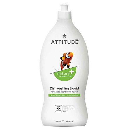 Купить ATTITUDE, Средство для мытья посуды «Зеленое яблоко и базилик», 700 мл