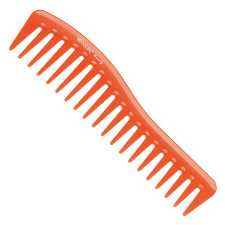 Купить Dewal, Гребень «Волна», оранжевый