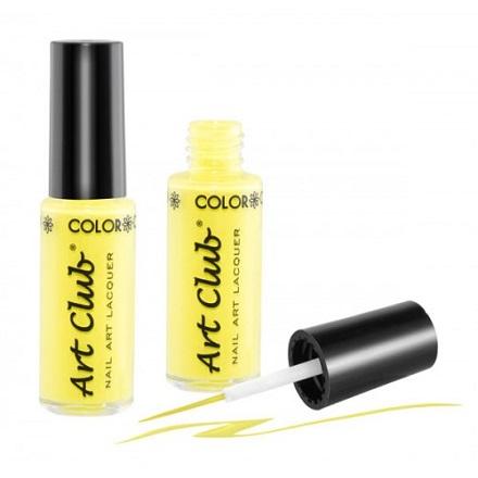 Color Club, Art Club, цвет № 054 Neon Yellow 7 ml