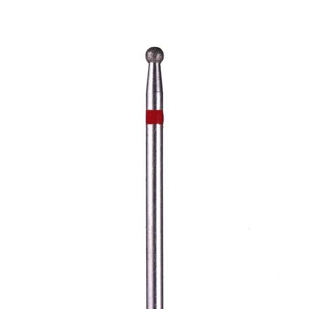 Купить Ice Nova, Фреза алмазная «Шар» D=2, 5 мм, красная