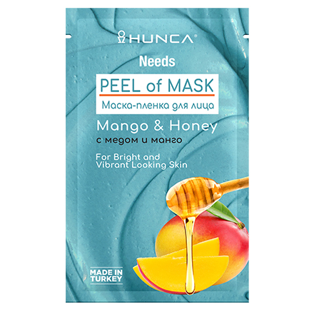 Hunca, Маска-пленка для лица Mango & Honey, 10 мл