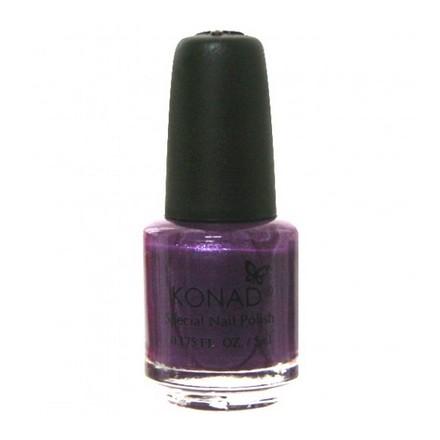 Konad, лак для стемпинга, цвет S18 Violet Pearl 5 ml (фиолетово-перламутровый)