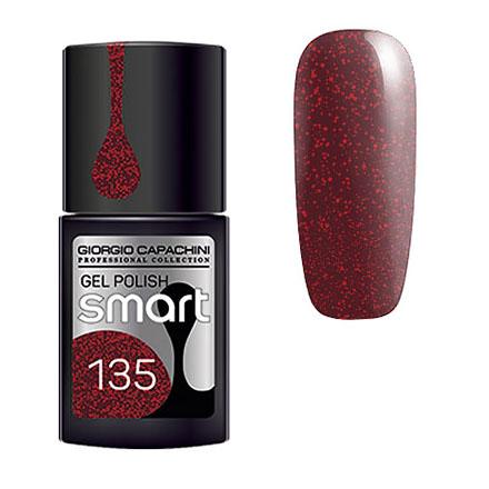 Купить Giorgio Capachini, Гель-лак Smart №135, Красный