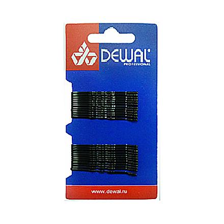 Dewal, Невидимки «Волна», черные, 50 мм, 24 шт.  - Купить
