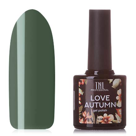 Купить TNL, Гель-лак Love Autumn №10, TNL Professional, Зеленый