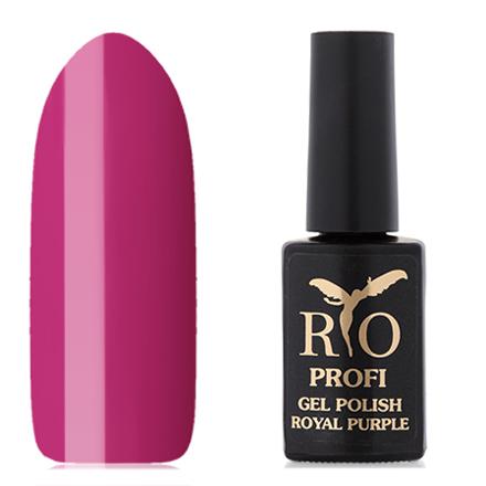 Rio Profi, Гель-лак «Royal Purple» №10, Заморский кулон rio profi гель лак 83 королевский дракон
