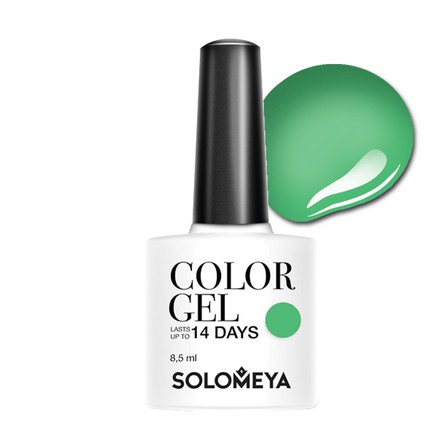 Купить Solomeya, Гель-лак №107, Natural Green, Wella Professionals, Зеленый