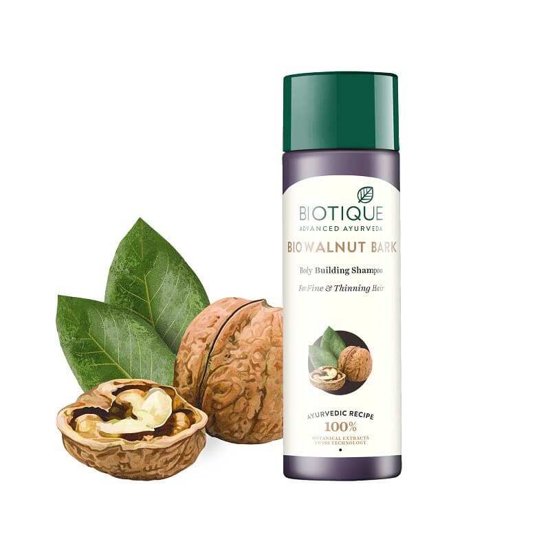 Biotique, Шампунь для волос Bio Walnut Bark, 190 мл фото