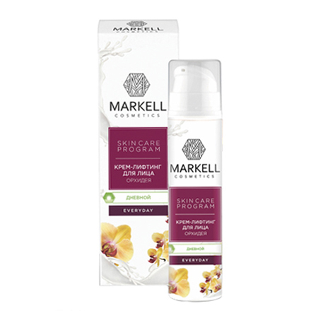 Купить Markell, Крем-лифтинг для лица Everyday «Орхидея», 50 мл