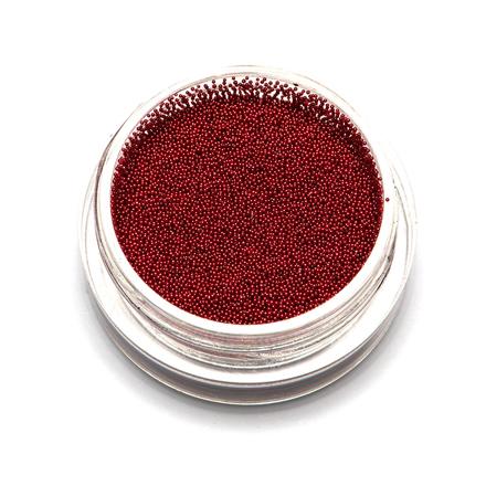 TNL, Бульонки супермелкие, красные, 0,2 мм