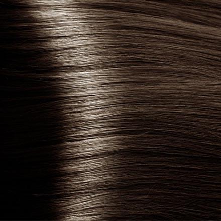 Kapous, Крем-краска для волос Hyaluronic 6.757, темный блондин пралине, 100 мл краска для волос kapous professional hyaluronic acid hair color серебро
