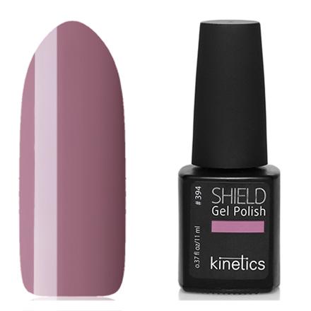 Kinetics, Гель-лак Shield №394, Naked truthKinetics<br>Гель-лак (11 мл) дымчатый розово-лиловый, без перламутра и блесток, плотный.
