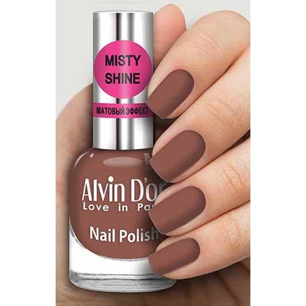 Купить Alvin D`or, Лак Misty shine №521, Alvin D'or, Коричневый