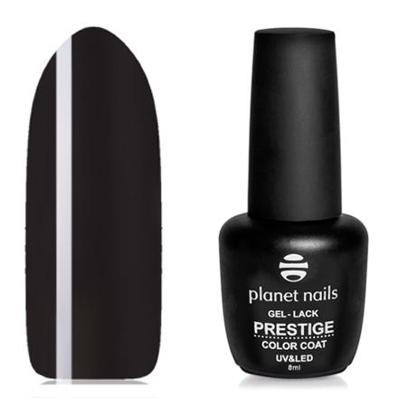 Купить Planet Nails, Гель-лак Prestige №559, 8 мл, Черный