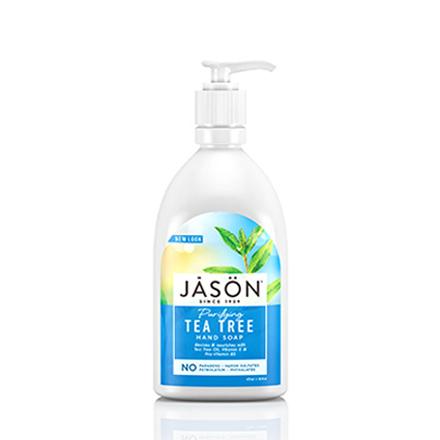 Купить JASON, Жидкое мыло для рук и тела Purifying Tea Tree, 473 мл, JASON (JĀSÖN)