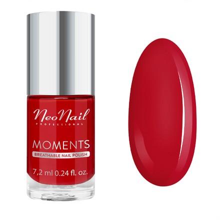 Купить NeoNail, Лак для ногтей Moments №7076-7, Sexy Red, NeoNail Professional, Красный