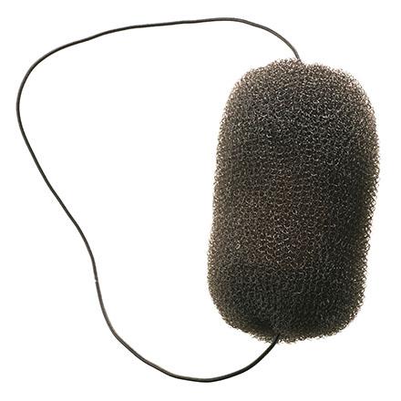 Dewal, Валик-сетка с резинкой, черный, 12 см недорого