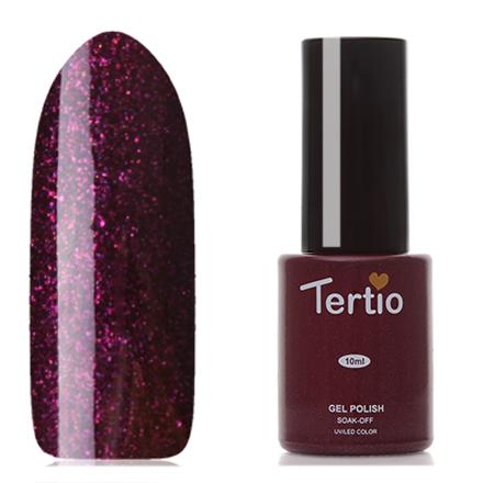 Tertio, Гель-лак Eco Line №93Tertio<br>Гель-лак (10 мл) баклажановый, с микроблестками, плотный.<br><br>Цвет: Фиолетовый<br>Объем мл: 10.00