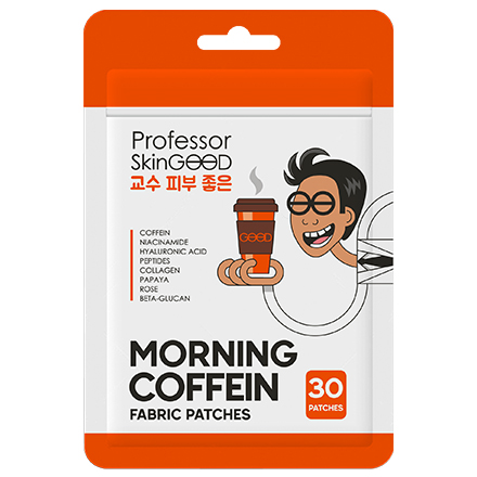 Professor SkinGOOD, Патчи для лица Morning Coffein, 30 шт.