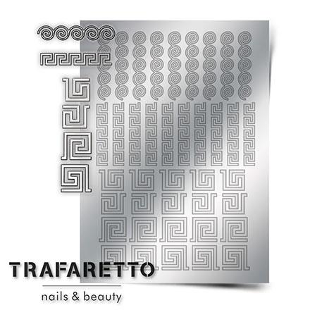 Trafaretto, Металлизированные наклейки OR-03, серебро  - Купить