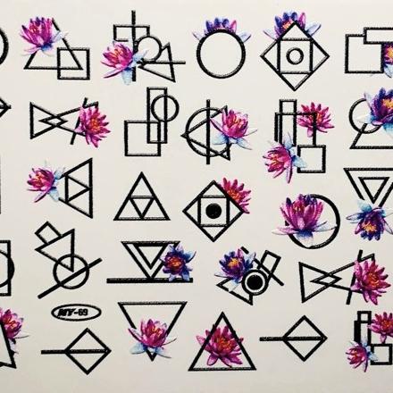 Anna Tkacheva, Слайдер NY №69 «Геометрия. Цветы» фото