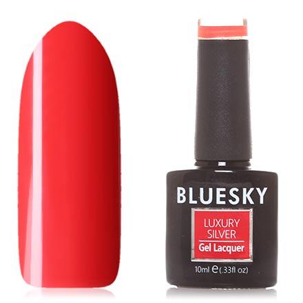 Купить Bluesky, Гель-лак Luxury Silver №137, Красный